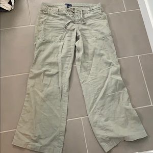 Gap wide leg pants
